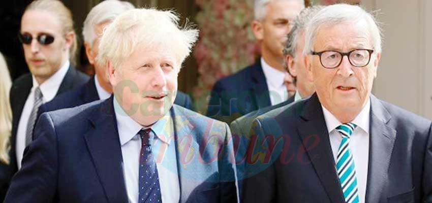 Johnson and Juncker marathon negotiations was convivial.