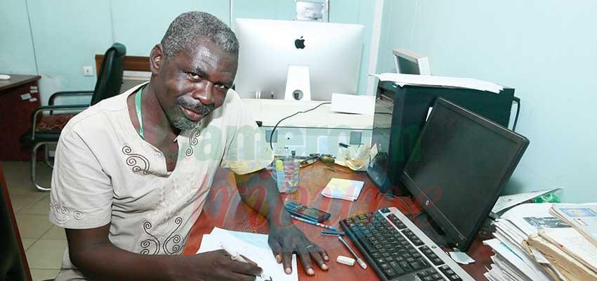 Augustin Ndjoa : « La caricature ce n'est pas que du dessin. »