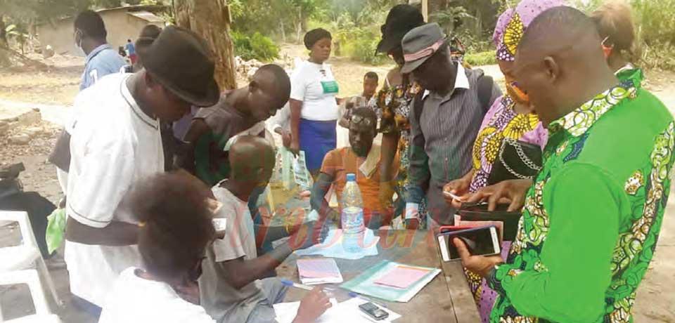 Projet « Filets sociaux » : 128 ménages secourus à Jebalè