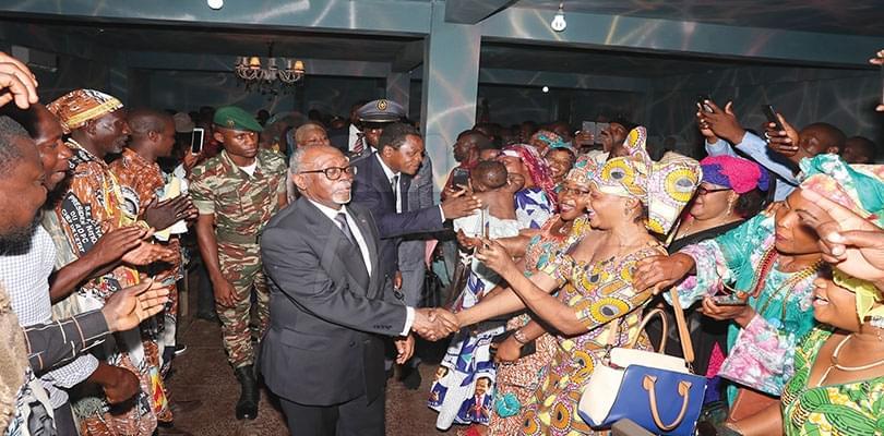 La communauté camerounaise comblée