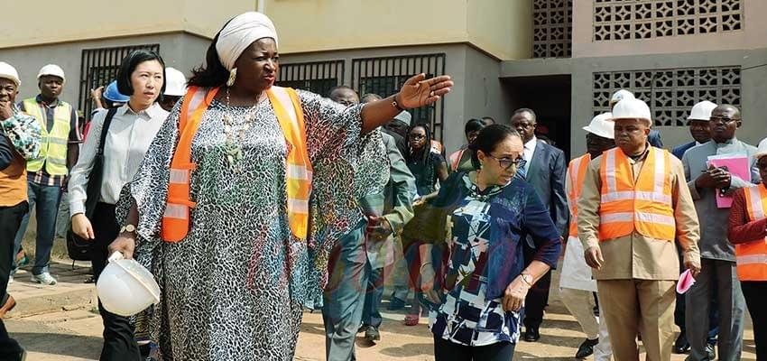 Logements sociaux d'Olembe: toutes les imperfections doivent être corrigées