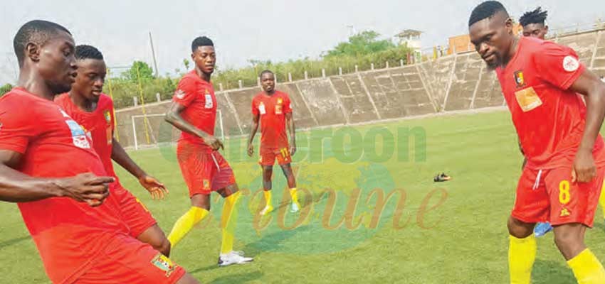CHAN 2020 : Intermediate Lions Continue Training In Douala