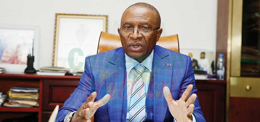 Naseri Paul Bea, président du Comité de site de Yaoundé et gouverneur de la région du Centre.