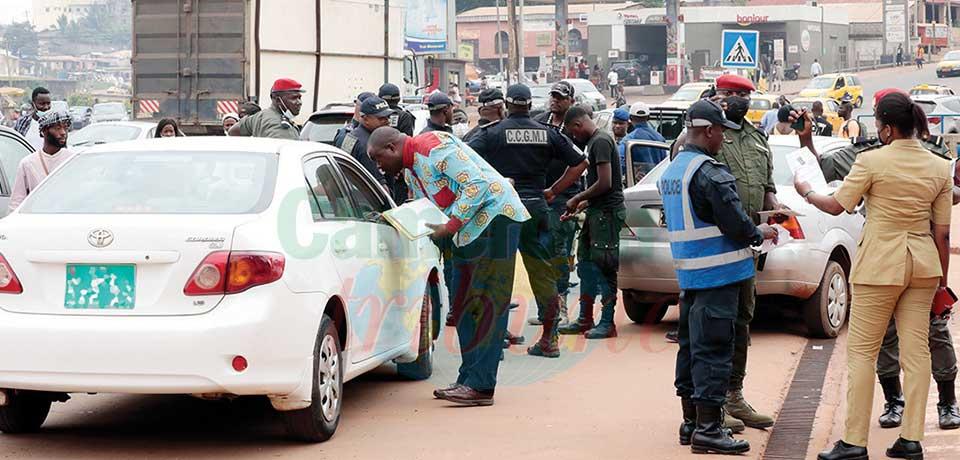 Plaques d'immatriculation non conformes : la chasse a commencé à Yaoundé