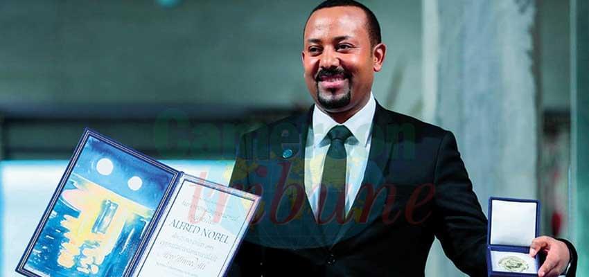 Abiy Ahmed a réaffirmé son combat pour la paix dans la Corne de l'Afrique.