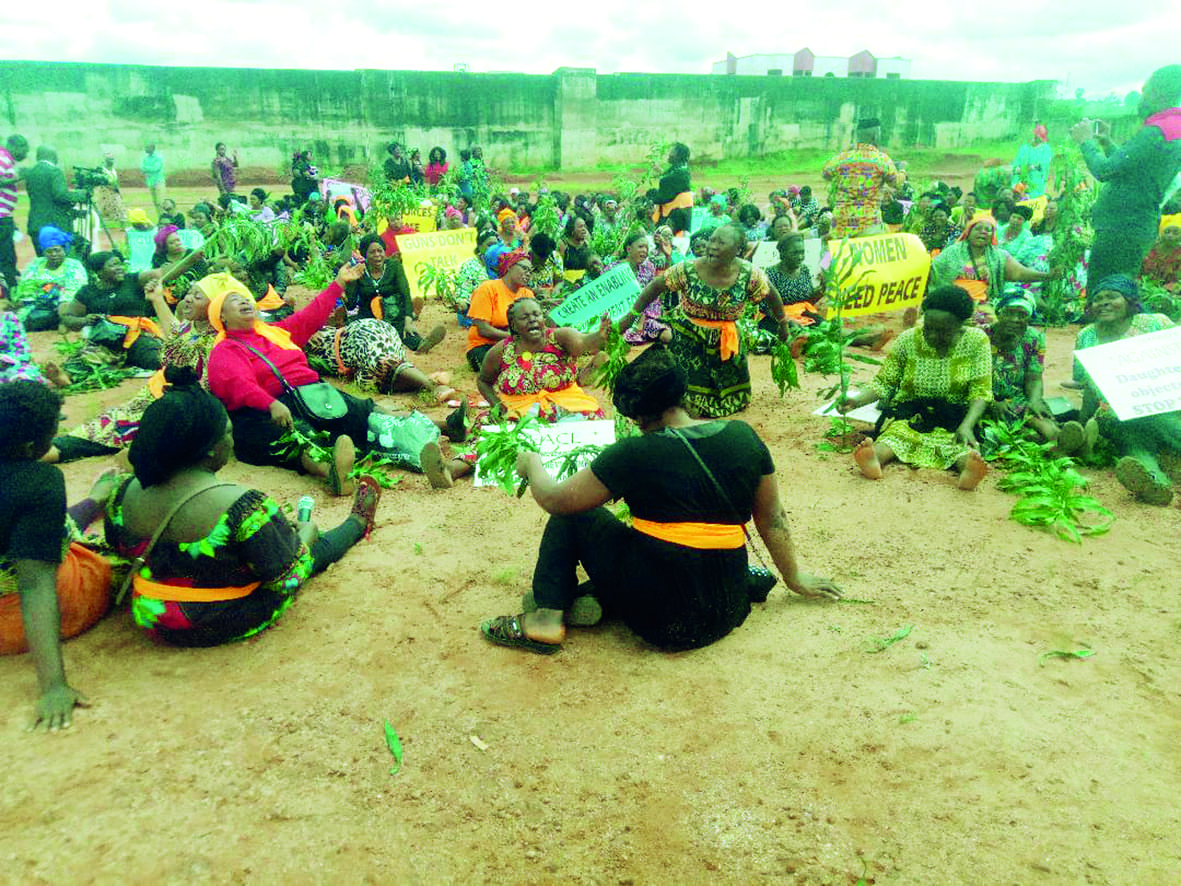 Crisis In NW, SW Region: Women Cry For Peace In Bamenda