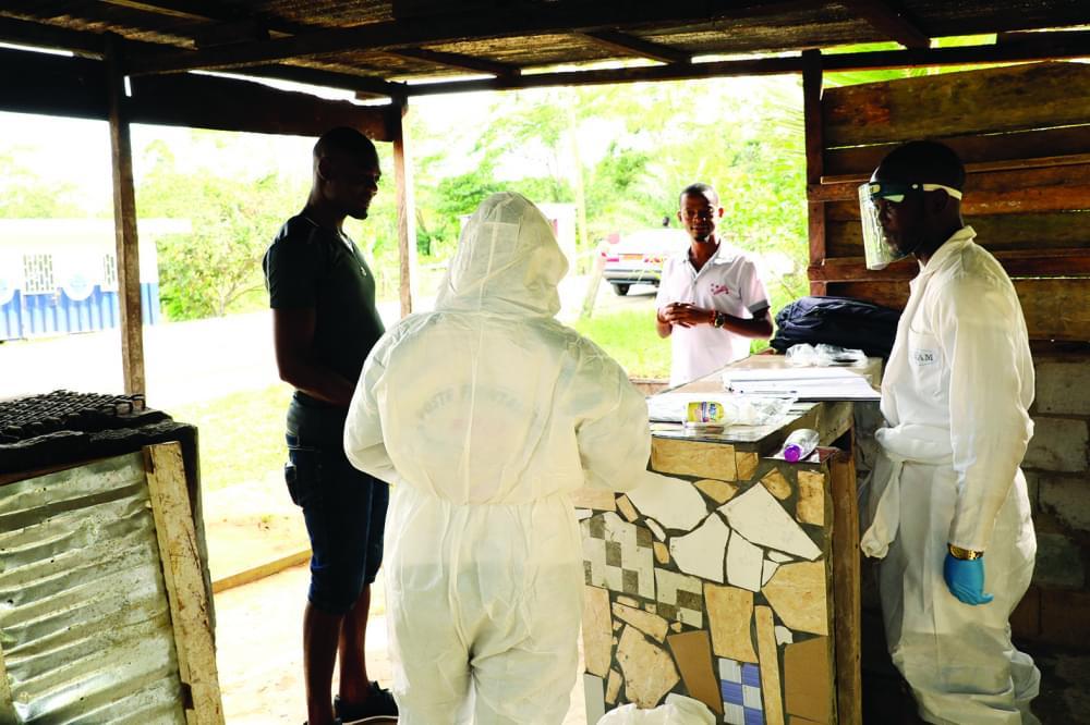 Border Control : Medical Team At Work