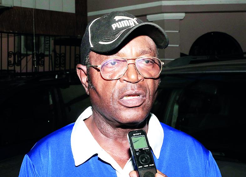 Joseph Evouna, directeur technique de l'équipe nationale du Cameroun de cyclisme.