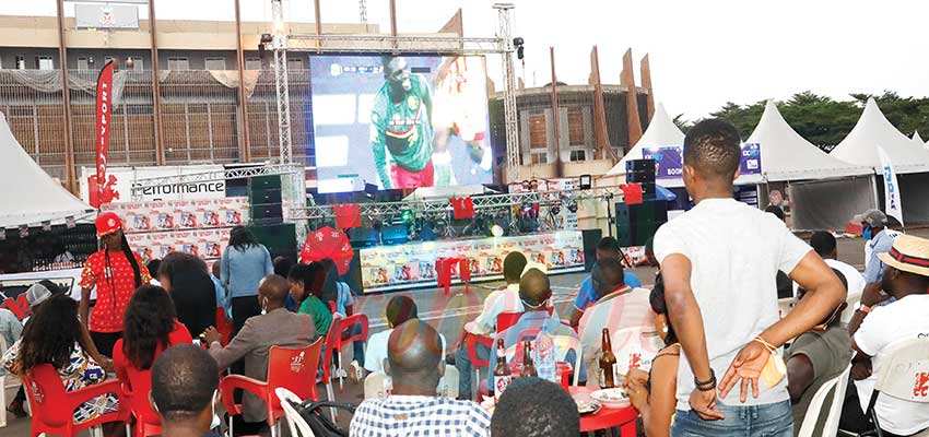 CHAN 2020 : Euphoria At Yaounde Fan Zone