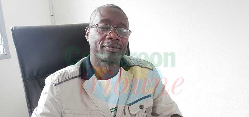 Parfait Olinga Bingonga, délégué régional des Arts et de la Culture de l'Est.