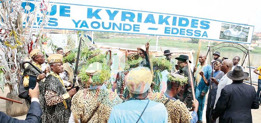 Yaoundé : l'onction des chefs traditionnels
