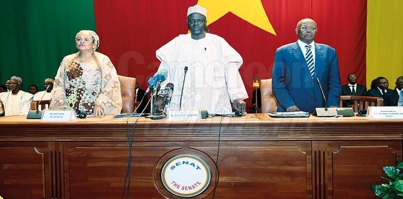 Election présidentielle: le Sénat salue le bon déroulement