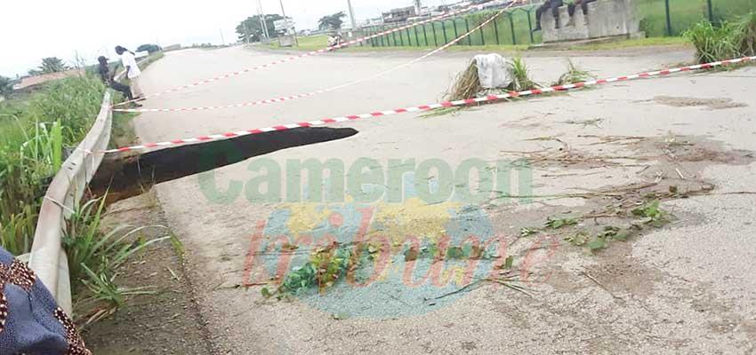 Aéroport international de Douala : une des entrées fermée