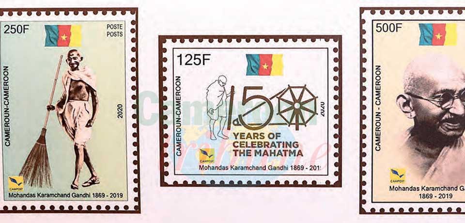 Les timbres émis par la Campost. Les timbres émis par la Campost.