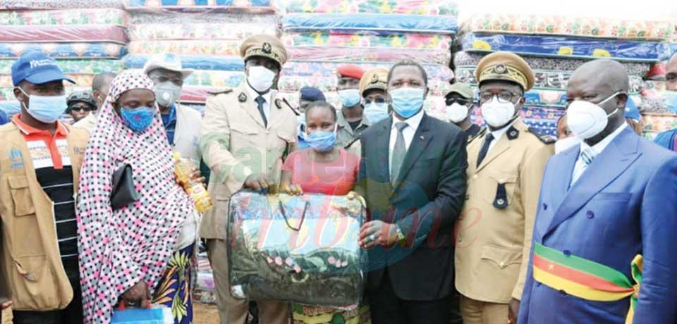Assistance aux réfugiés : encore un beau geste de Paul Biya