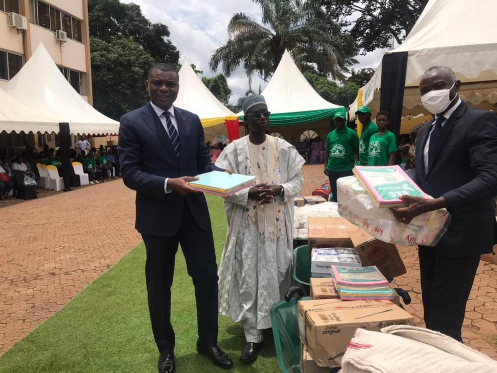 Rentrée scolaire  : la mairie de Yaoundé II au chevet des élèves