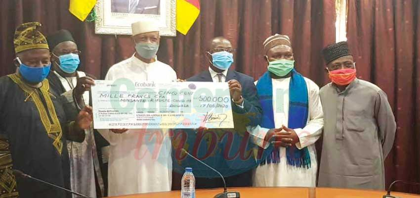 Fonds spécial de solidarité nationale : l'Union islamique du Cameroun offre 500 000 F