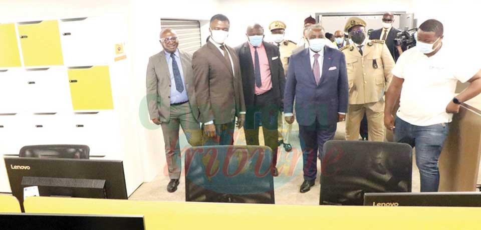 CAN TotalEnergies 2021 : le Mincom satisfait à Douala