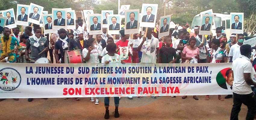Ebolowa :  les jeunes disent non aux appels insurrectionnels