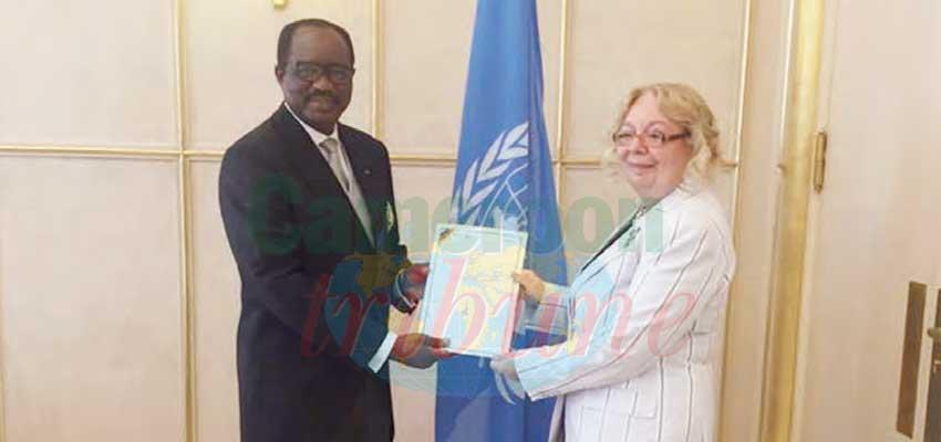 Office des Nations unies : Salomon Eheth entre en fonction