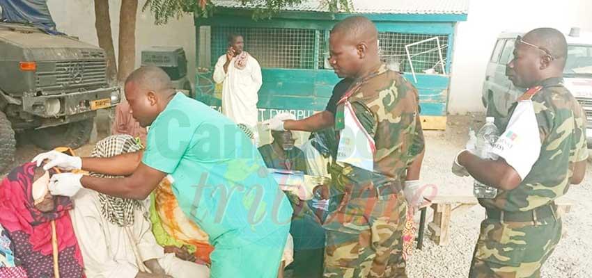 Actions civilo-militaires : l'armée toujours présente