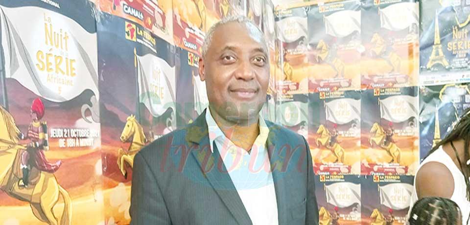 Jean Roke Patoudem, fondateur de Patou Films Productions, promoteur de la Nuit de la série africaine au Fespaco.
