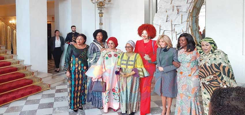 Forte de son expérience, Mme Chantal Biya a sa pierre à apporter au projet de Brigitte Macron.