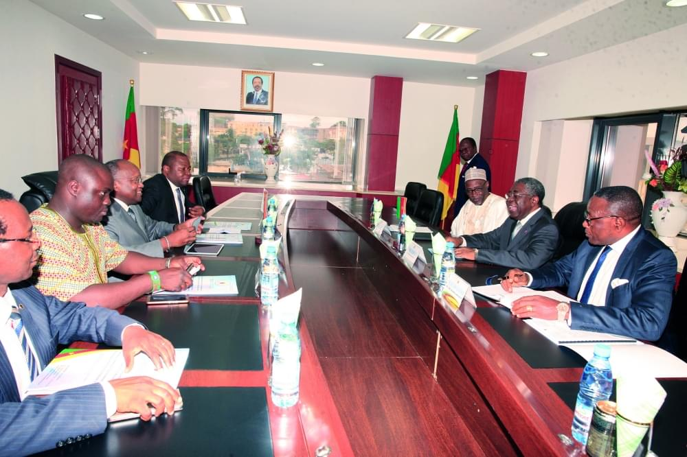 Image : Peace Restoration In NW, SW: Musonge, AU Envoys Exchange Ideas