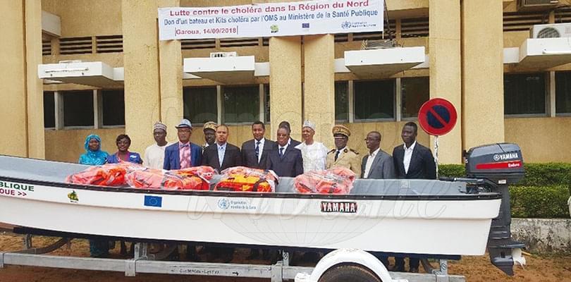 Choléra dans le Nord: la menace s'éloigne