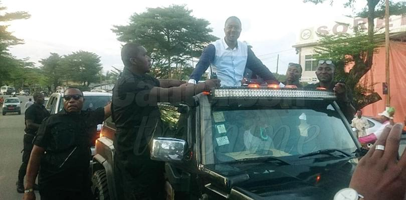 Image : Ebolowa: Frankline Ndifor en opération séduction