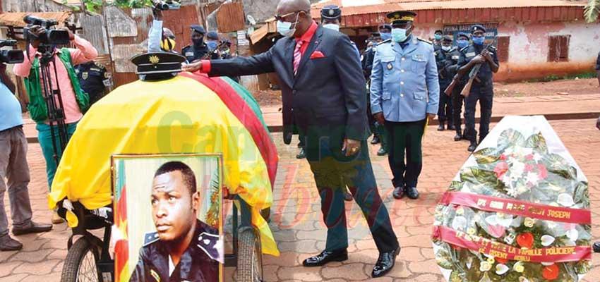 Bafoussam : Fallen Police Inspector Honored