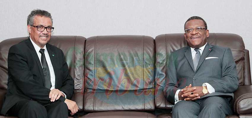 Décès du Dr Richard Mouzoko: les condoléances de l'Oms présentés au gouvernement