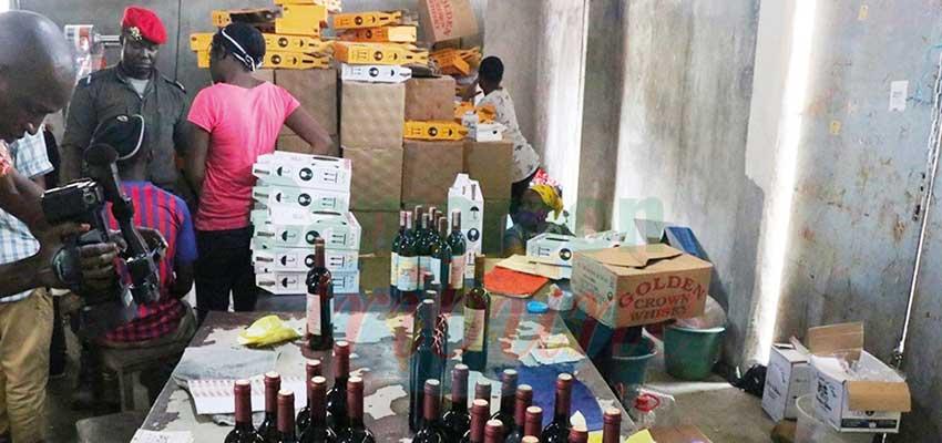 Contrefaçon :  des producteurs de faux vins au frais