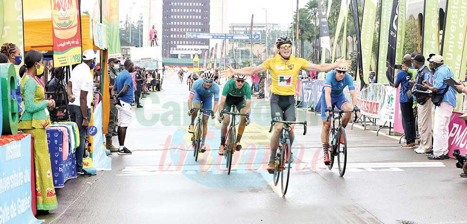Grand prix cycliste international Chantal Biya : Lukaš Kubiš plus fort