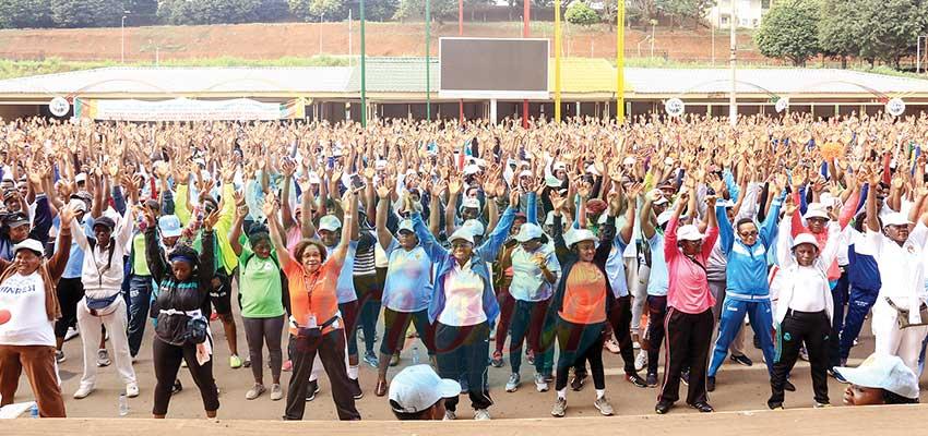 Journée internationale de la femme : sport et remise en forme d'abord