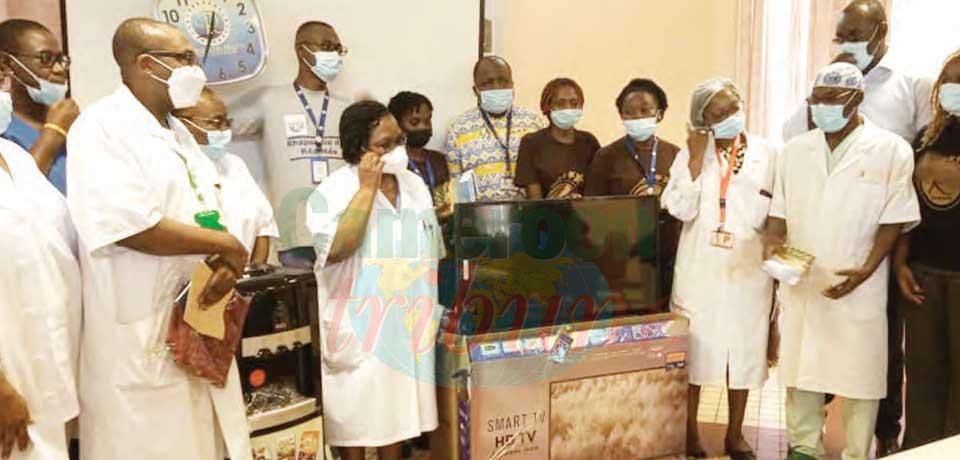 Santé : un don pour l'Hôpital général de Douala