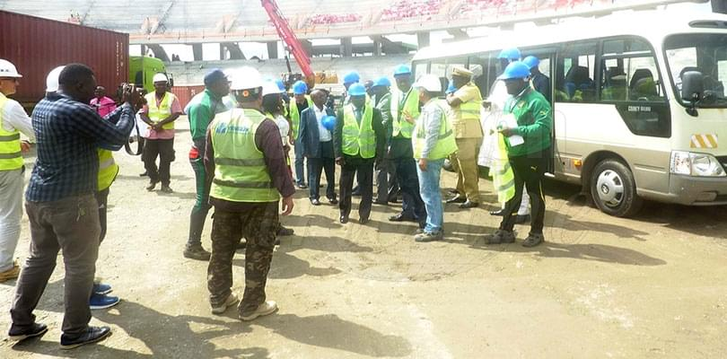 Douala: CAF Security Experts Wrap up Visit