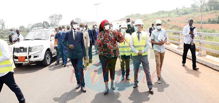 Autoroute Yaoundé-Nsimalen: ce sera ouvert pour le Chan