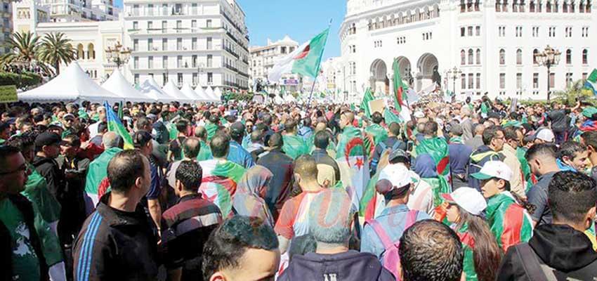 Demonstrators have kept up pressure for a change of system even after the resignation of President Abdelaziz Bouteflika.