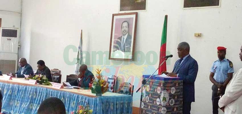 Le Pr. Adolphe Minkoa She s'est dit engagé à faire émerger l'UYII-Soa.