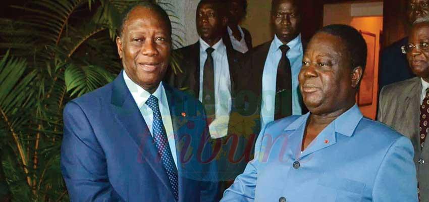 Côte d'Ivoire : Ouattara et Bédié se reparlent