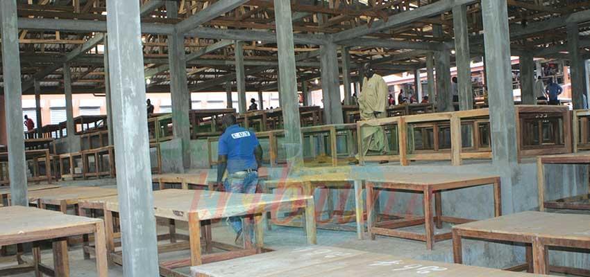 Poste centrale de Yaoundé : des commerçants recasés au marché Mokolo