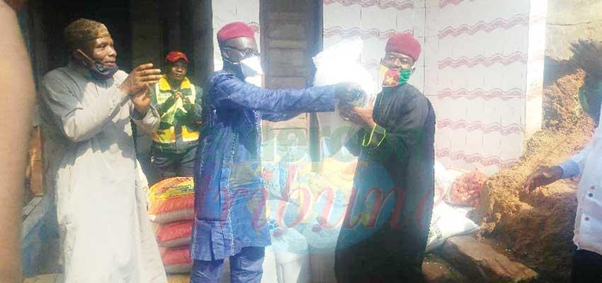 Abong-Mbang  : des vivres pour la communauté musulmane