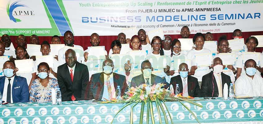 Entrepreneuriat jeunes : 100 Pmes formées à la gestion des projets