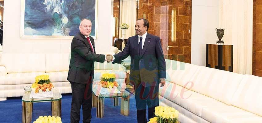 Ran Gidor chaleureusement reçu par le chef de l'Etat