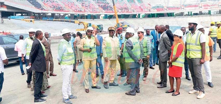 Infrastructures sportives: Les chantiers se poursuivent à Douala