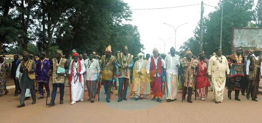 Les chefs traditionnels ont donné de la voix.