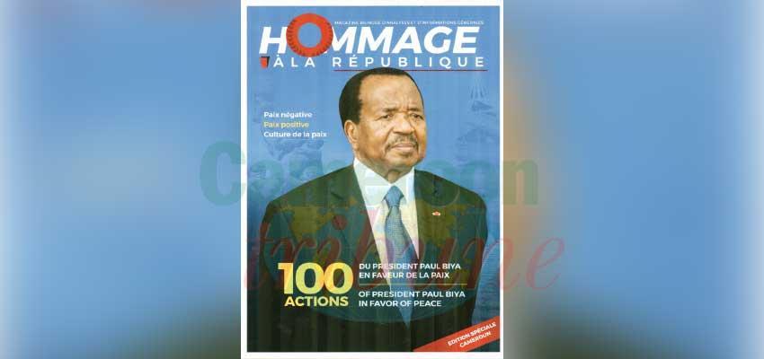 Paul Biya  : la paix en 100 actions
