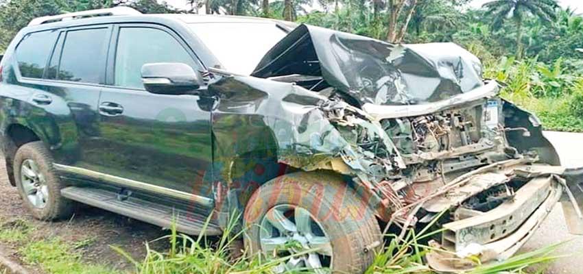 Samuel Eto'o victime d'un accident