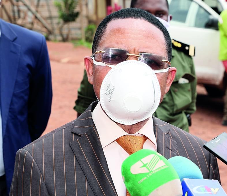 Victor Mbemi Nyaknga, directeur général de la Sonatrel.